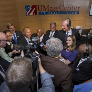 Opening of the UMass Center at Springfield