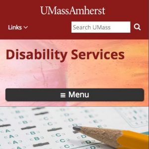 UMass Amherst Disability Services