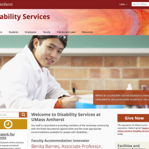 Disability Services at UMass Amherst