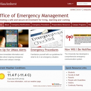 Emergency Management website