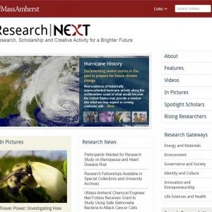 Research Next website