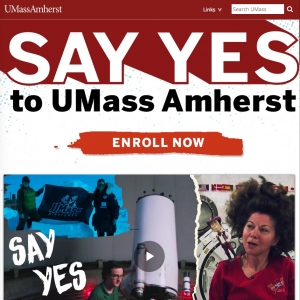 Say Yes to UMass Amherst
