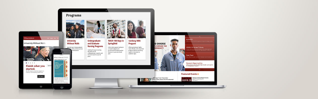 UMass University Relations Web Development