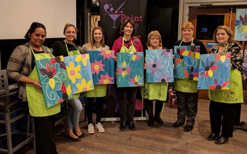 UWN After-Hours:  Paint Nite 1
