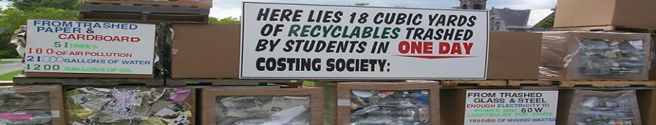 Recycling header