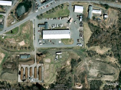 Aerial photo of Waste Facility
