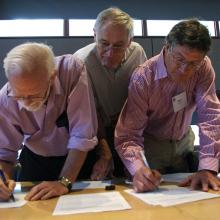 Signing the NAWEA charter