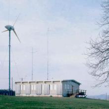 Turbine at UMass (now Smithsonian)