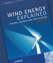 Wind Energy Explained Textbook Cover