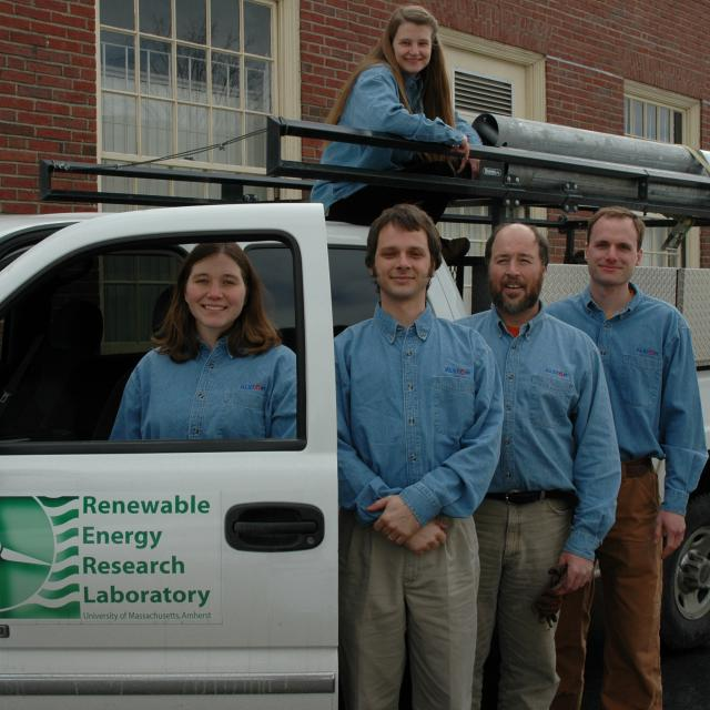 RERL (Now WEC) staff pictured in front of truck