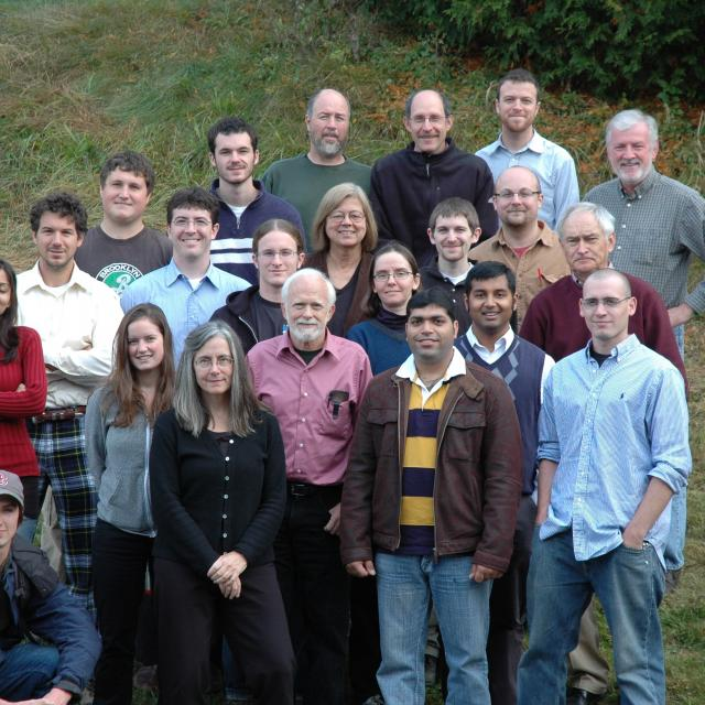 Wind Energy Center group photo in 2009