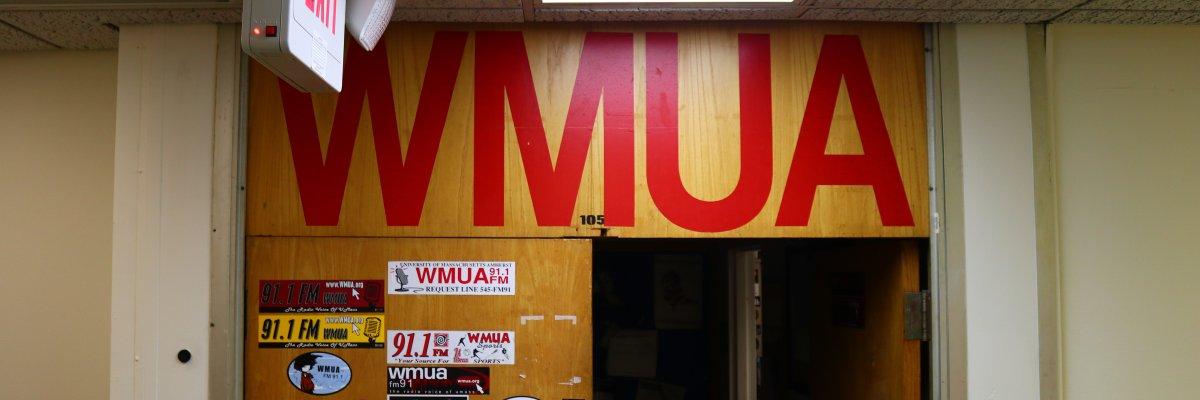 WMUA studio entrance