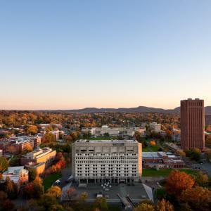 UMass aerial view